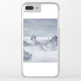 Return to New York Clear iPhone Case