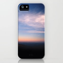Moon Over Boone iPhone Case