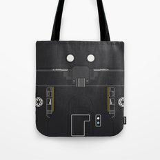 Minimal K-2SO Droid Tote Bag