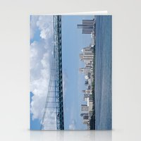 detroit Stationery Cards featuring Nearing Detroit by Ann Horn