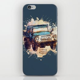 ZIL grunge edition iPhone Skin