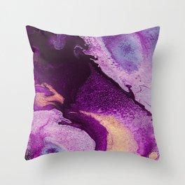 Cellular Throw Pillow