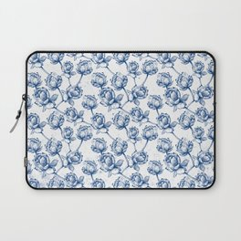 Lotus Pattern Laptop Sleeve