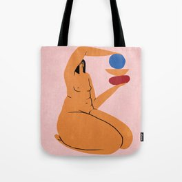 delicate balance of everyday life Tote Bag
