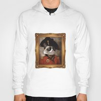 general Hoodies featuring Angry cat. Grumpy General Cat.  by UiNi