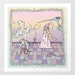 Desert Dream Art Print