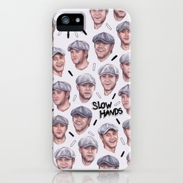 Slow Hands Niall case iPhone Case