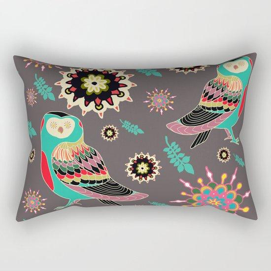 crystal owls Rectangular Pillow