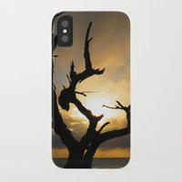 arya stark iPhone & iPod Cases featuring Stark by Right As Rain