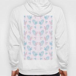 Pretty Pastel Flamingo Chevron Pattern #decor Hoody
