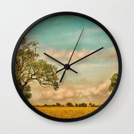 Farmland Wall Clock