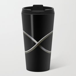 Infinity symbol Metal Travel Mug