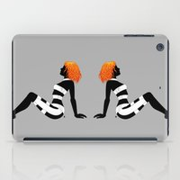 dallas iPad Cases featuring Leeloo Dallas Mudflap by castlepöp
