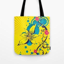 Sunshine Floral Tote Bag