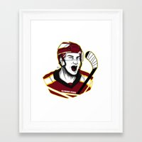 picard Framed Art Prints featuring Alexandre Picard by Kana Aiysoublood