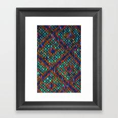 Roof Tiles Framed Art Print