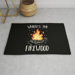 Camping - Wheres The Firewood Rug