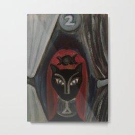 High Priestess/Tarot Metal Print