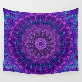Harmony in Purple Wall Tapestry