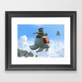 The Ferry Framed Art Print