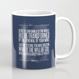 Romans 12:2 Coffee Mug