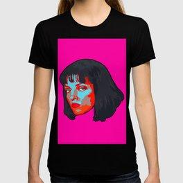 Pulp Fiction Mia Wallace Portrait T-shirt
