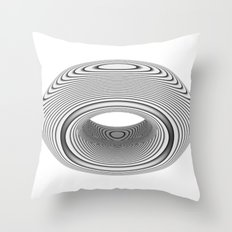 PsyDonut Throw Pillow
