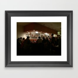 Sushi Bar Framed Art Print