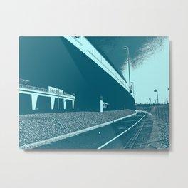Bridge 16 Metal Print