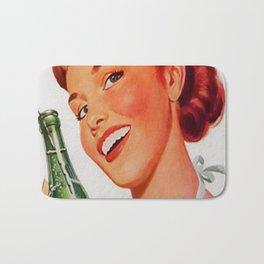 Vintage poster - Soda Ad Bath Mat