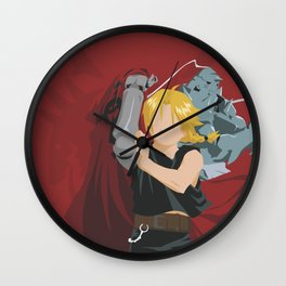 Alchemist Brothers Wall Clock