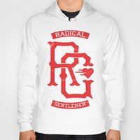 monogram Hoodies featuring Monogram! by Radical Gentlemen