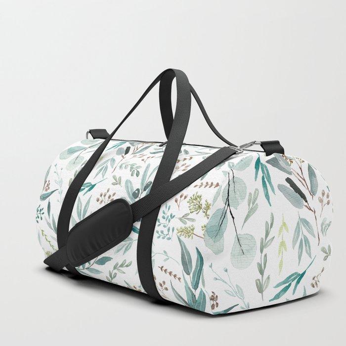 Eucalyptus pattern Duffle Bag