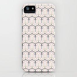 Oriental Geometric Pattern iPhone Case
