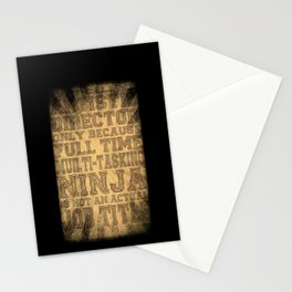 Artistic Director Stationery Cards