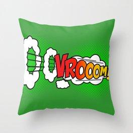 Vroom ! Throw Pillow