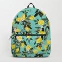 Summer Lemon Floral by crystalwalen