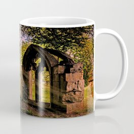 Manor house landscape. Coffee Mug