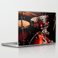 drums Laptop & iPad Skins featuring Drums  by Alice Mari
