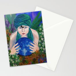The Crystal Ball Stationery Cards