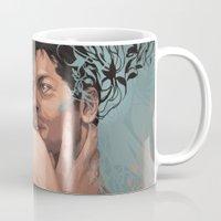 destiel Mugs featuring Destiel by Pat-a-tat