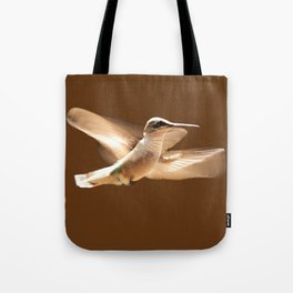 The Delight Of Hummingbird Wings Tote Bag