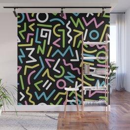 Abstract shapes Wall Mural
