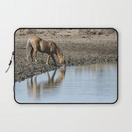 Reflection of a Stallion Laptop Sleeve