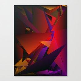 Smoke Screen Abstract 6 Canvas Print