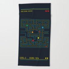 Pacman Beach Towel