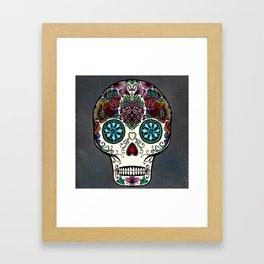 Día de Muertos Framed Art Print