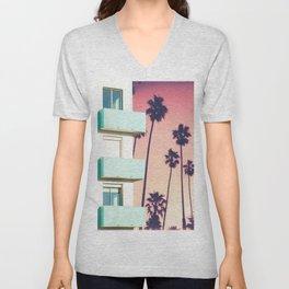 Palm Trees Unisex V-Neck