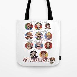 Art School Party Tote Bag