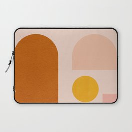 Abstraction_SHAPES_Minimalism_01 Laptop Sleeve
